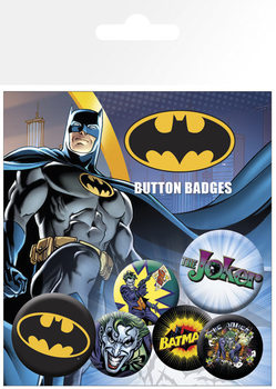 BATMAN COMIC Badge Pack