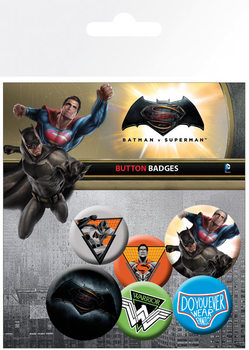 Batman Vs Superman - Mix Badge Pack