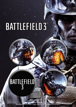 Battlefield 3 Badge Pack