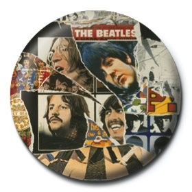 BEATLES - anthology 3 Badges