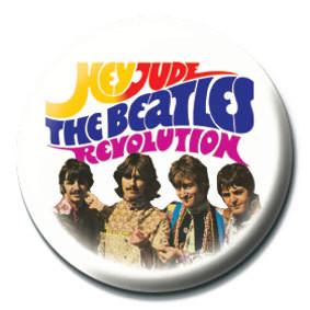 BEATLES - Hey Jude/Revolution Badge