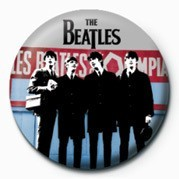 BEATLES (IN PARIS) Badge