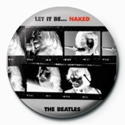 BEATLES (LET IT BE NAKED) Badges