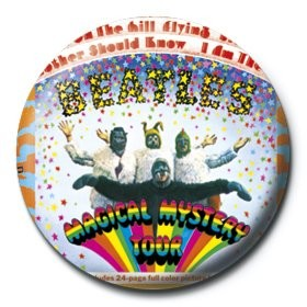 BEATLES - magical mystery tour Badges