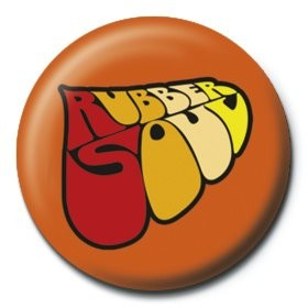 BEATLES - rubber soul logo Badges