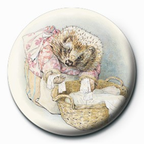 BEATRIX POTTER (MRS TIGGY) Badge