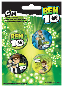 Ben 10 Badge Pack