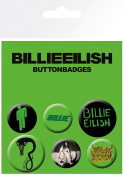 Billie Eilish - Mix Badge Pack