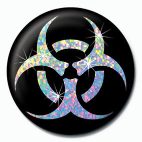 BIOHAZARD Badges