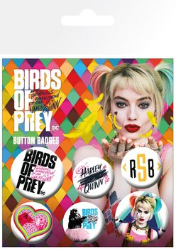 Birds Of Prey: And the Fantabulous Emancipation Of One Harley Quinn - Mix Badge Pack