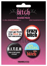 Badges BITCH