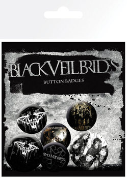 BLACK VEIL BRIDES Badge Pack