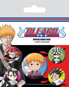 Badge set Bleach - Chibi Characters
