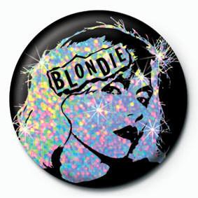 BLONDIE FACE Badge