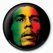 BOB MARLEY - face Badges