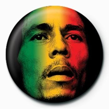 Bob Marley (Face) Badge