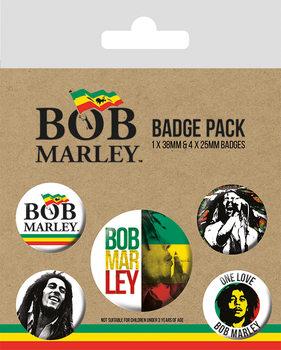 Bob Marley Badge Pack