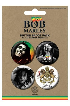 Badges BOB MARLEY - photos