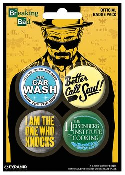 Breaking Bad - A1A Car Wash Badge Pack