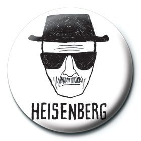 Breaking Bad - Heisenberg paper Badges