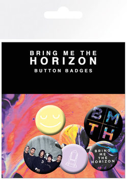 Bring Me The Horizon - Umbrella Badge Pack
