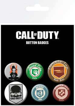 Call Of Duty - mix B Badge Pack