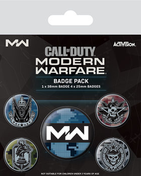 Badge set Call Of Duty: Modern Warfare - Fractions
