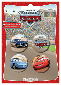 CARS 1 Badge Pack