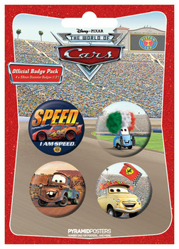 CARS 2 Badge Pack