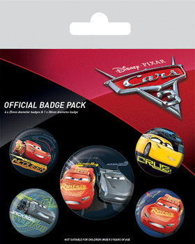 Cars 3 - Characters Badge Pack