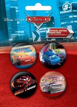 Badges CARS DRIFT 2