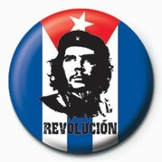 CHE GUEVARA - flag Badge