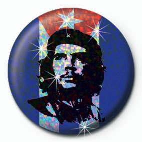 CHE GUEVARA - flag Badges