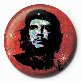 CHE GUEVARA - rojo Badges