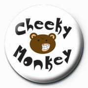 CHEEKY MONKEY Badge