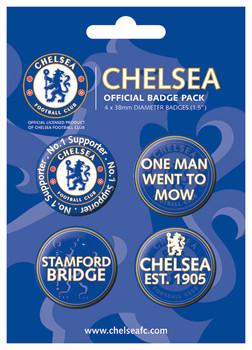 CHELSEA - fc-nr 1 Badge Pack