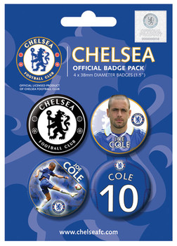 CHELSEA - j. cole Badges