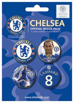CHELSEA - Lampard Badge Pack