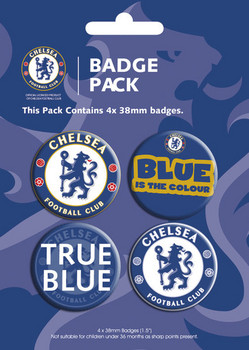 Badges CHELSEA - pack 2