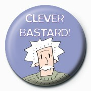 Clever Bastard Badge