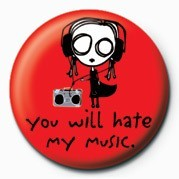D&G - EVE.L - HATE MY MUSI Badge