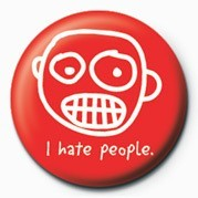 D&G (I Hate People) Badge
