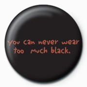 D&G (TOO MUCH BLACK) Badge