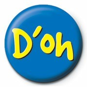 D'OH Badge