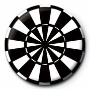 DART BOARD Badges