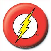 Badge DC Comics - The Flash Logo