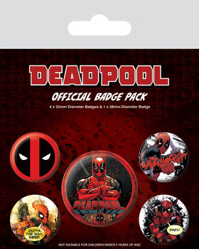 Deadpool Badge Pack