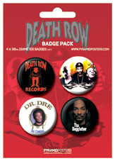 DEATH ROW RECORDS Badge Pack