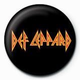 DEF LEPPARD - logo Badges