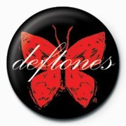 DEFTONES - BUTTERFLY Badges